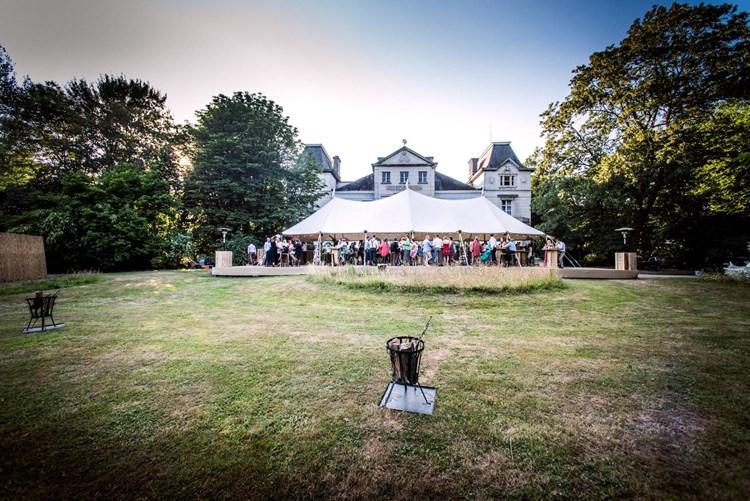 tuinfeest organiseren voor kasteel